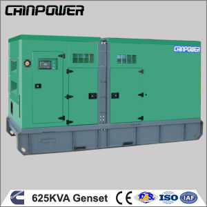 Trailer Type 625 kVA Diesel Generator Set