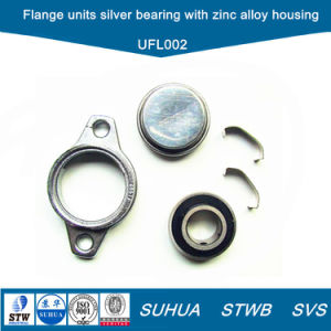 Rhombus Flange Units Silver Bearing with Zinc Alloy Housing (UFL002) pictures & photos