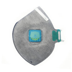 Agricultural Active Carbon Flat Fold Particulate Respirator Mask pictures & photos