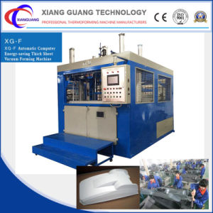 High Quality Vacuum Forming Machine for Thick Plastic Rubber Sheet