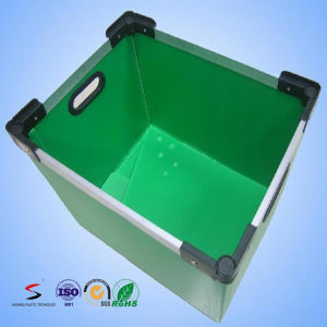 Corrugated Plastic Storage Box Stacking Tote PP Stackable Container pictures & photos