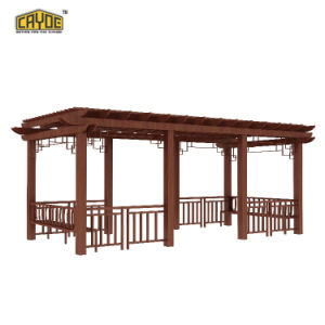 Cayoe Water-Proof Aluminum Outdoor Pergola with Rich Colors