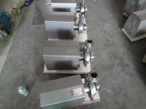 High Quality Food Sanitary Centrifugal Pump pictures & photos