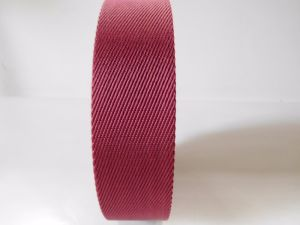40mm Red Twill Nylon Webbing for Brand Handbags pictures & photos