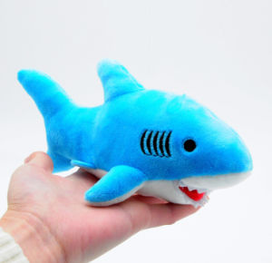 High Quality Lovely 3 Color Shark Plush Toy