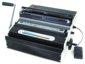 Spiral Binding Machine (YD-WM800E) pictures & photos