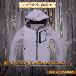 Fashion Waterproof Breathable Outdoor Softshell Jacket (SFJ 0016)