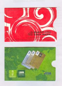 Tyvek ATM Card Sleeves