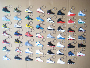 Jordane Sneaker Shoes Soft PVC Keychains (ASNY-JL-key chain-13060602) pictures & photos