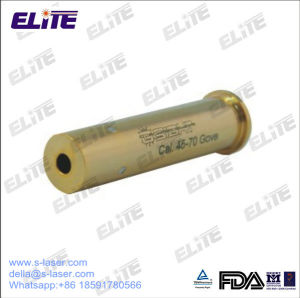FDA Certified High Quality Brass and Gold Plated 45-70gove Caliber  Cartridge Red Laser Bore Sighter for Hunting Guns and Rifles