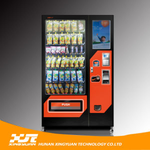 Glass Bottle Beer Vending Machine with 22 Inches Screen pictures & photos