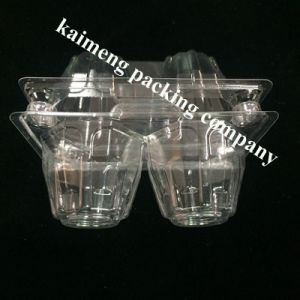 Transparent PVC Plastic Egg Tray for Refrigerator (Chiken egg tray)