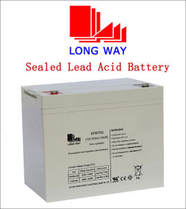 12V70ah Uninterruptible Power Supplies Sealed Lead Acid VRLA Battery Supplier pictures & photos