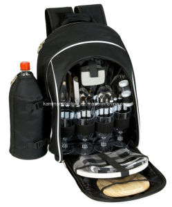 Picnic Backpack with Bottle Holder pictures & photos