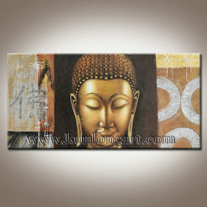 Modern Art Buddha Face Painting Religion Oil On Canvas