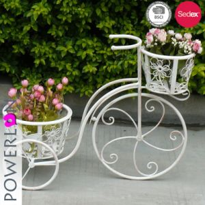 Vintage Metal Bicycle Plant Stand Outdoor Decor