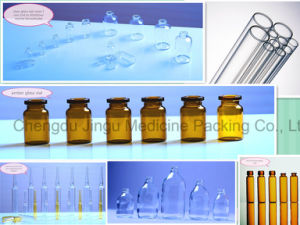 20ml Amber Glass Vial for Pharmaceutical Container pictures & photos