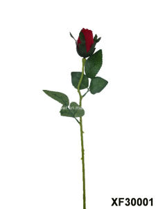 Artificial/Plastic/Silk Flower Single Stem of Rose (XF30001)