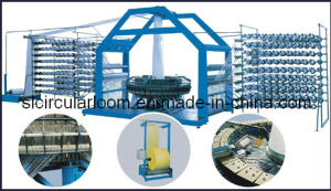 Plastic Mesh Loom Mesh Bag Making Machine (SL-WYD-750X4) pictures & photos