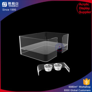 Yageli Hot Sale Customized Acrylic Feeder for Pet Shop pictures & photos