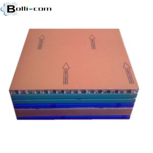 Bended Metal Aluminum Honeycomb Composite Panel pictures & photos