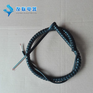 UL Approval Power Spring Wire Spiral Cable pictures & photos