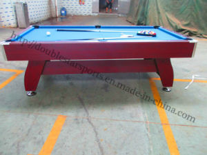 Hot Saling Solid Wood Snooker Pool Table Slate Wholesale pictures & photos