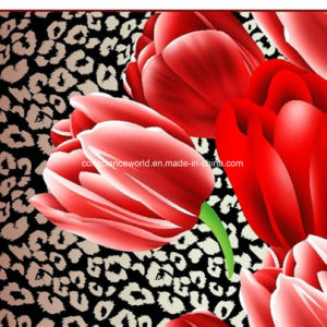 100%Polyester 3D Disperse Printed Fabric for Bedding Set