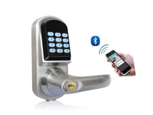 Bluetooth, Password Safe Door Lock with Password Keypad, Key Unlock, Low Voltage Alarm (UL-300BL) pictures & photos