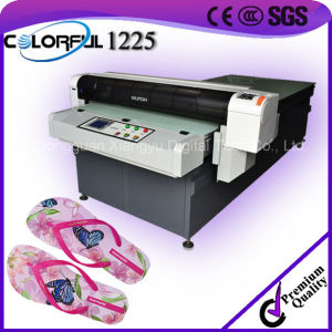 10 Years Experience Rubber/PVC/EVA Slipper Printing Machine with Wonderful Quality