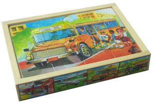 Wooden Toys Lacing Beads in a Box pictures & photos