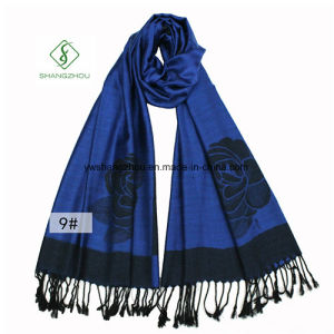 Wholesale National Style Pashmina Fashion Lady Scarf pictures & photos