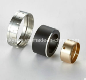 Precision Stainless Steel Ring Part by CNC Turning for Engraving Machine