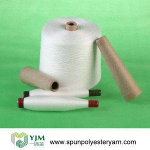 Bright Spun Polyester Yarn on Paper Cone