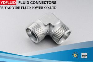 China Manufacturer Bsp Threaded 90 Degree Elbow Hydraulic Fitting pictures & photos