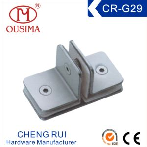 Stainless Steel Glass Hardware Fitting for Shower Room with Special Shape (CR-G29)