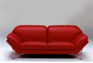 Leisure Leather Sofa Set (1+2+3) pictures & photos