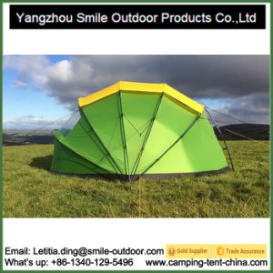 Manufacture Canvas Camping Temporary UV-Protect Shell Shape Dome Tent pictures & photos