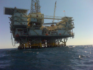 Steel Construction for Oil Drilling Platform Fields