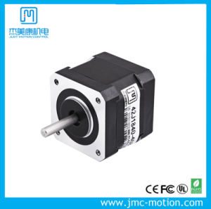 Bipolar 0.30nm Holding Torque Frame Size 42X40mm NEMA 17 3D Print Motor 0.8A pictures & photos