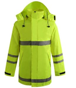 Hiviz High Visibility Waterproof Winter Jacket Parka (msj1015) pictures & photos