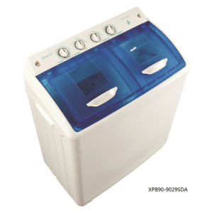9kg Twin-Tub Top-Loading Washing Machine for Qishuai Model XPB90-9029SDB pictures & photos