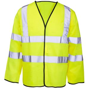 Long Sleeved High Visibility Vest with En20471 (C2505) pictures & photos