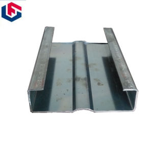 C Section Steel Black or HDG Cold Roll SPCC Steel Channel