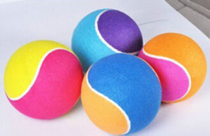 OEM New Corful Inflatable Tennis Ball pictures & photos
