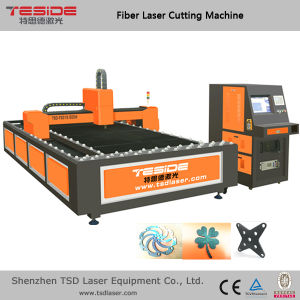 500W Fiber Laser Cutting Machine for Metal Plate Cutting