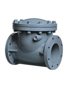 Best Swing Type Check Valve, Industrial Plastic Valve, PVC Valve pictures & photos
