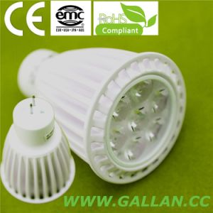 3W GU10 White Spotlight LED Bulb with CE RoHS (GHD-SW-3W) pictures & photos