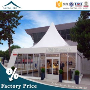White 5 Width PVC Rooftop Outdoor Pagoda Tent Marquee for Events Party with Decorated Lingings pictures & photos