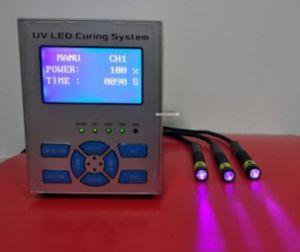 10mm Irradiation Diameter 385nm Wavelength UV LED Spot Curing System